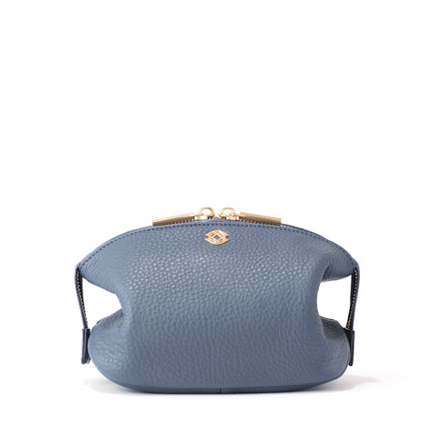 Lola Pouch in Ash Blue, Small
