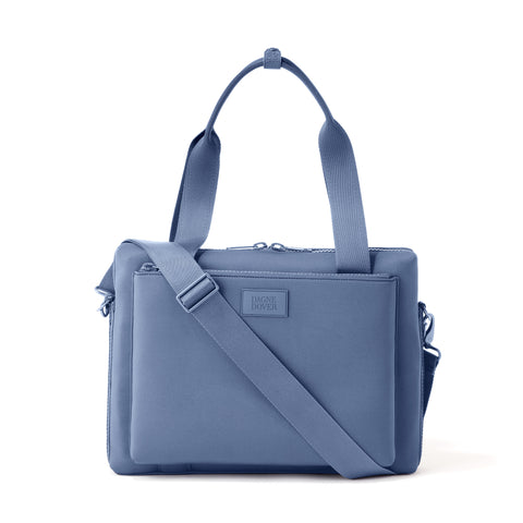 Ryan Laptop Bag in Ash Blue, Large