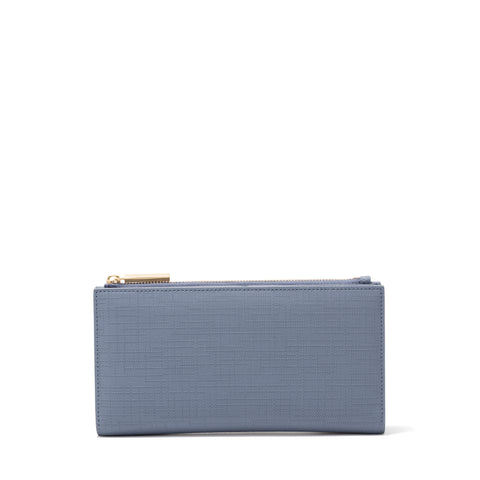 Slim Wallet in Ash Blue