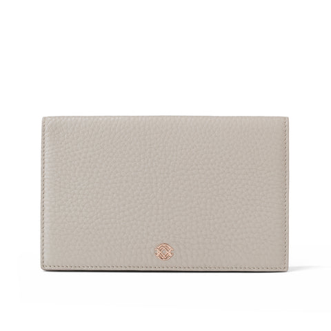 Accordion Travel Wallet - Bone