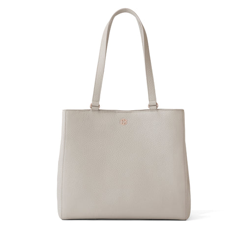Allyn Tote in Bone, Medium
