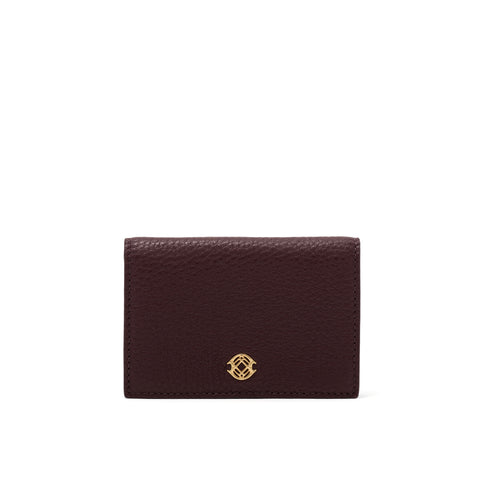 Accordion Card Case - Oxblood