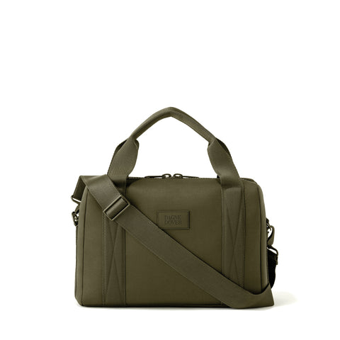 Weston Laptop Bag in Dark Moss, Medium