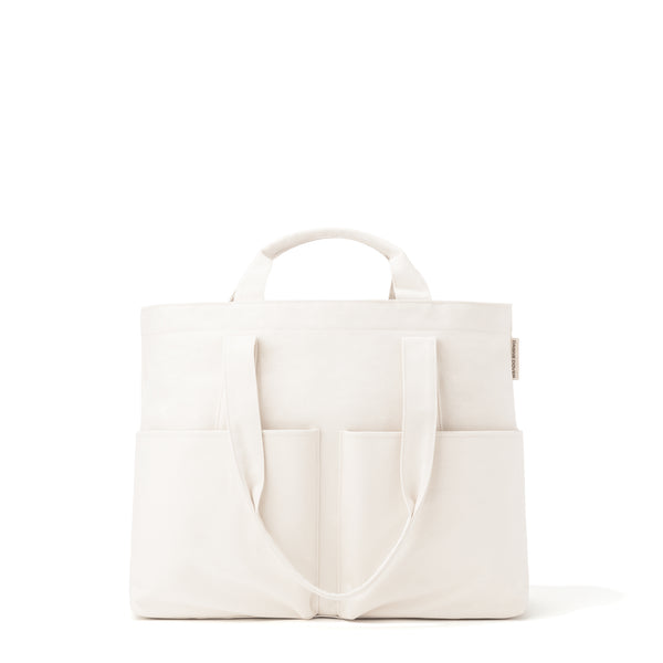Vida Organic Cotton Tote in Natural, Large by Dagne Dover