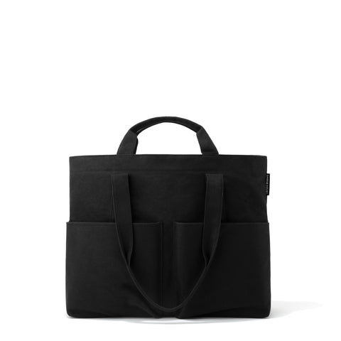 Vida Organic Cotton Tote in Onyx, Large