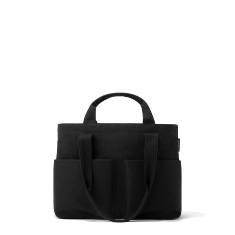 Vida Organic Cotton Tote in Onyx, Small