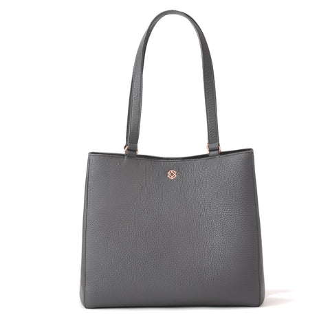 Allyn Tote in Graphite, Medium