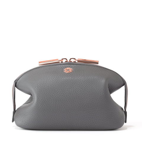 Lola Pouch in Graphite, Large