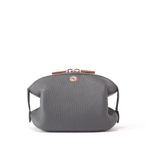 Lola Pouch in Graphite, Small
