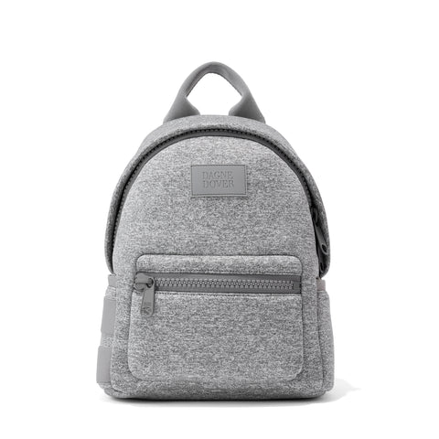 Dakota Backpack in Heather Grey, Small
