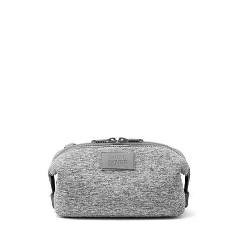 Hunter Toiletry Bag in Heather Grey, Small