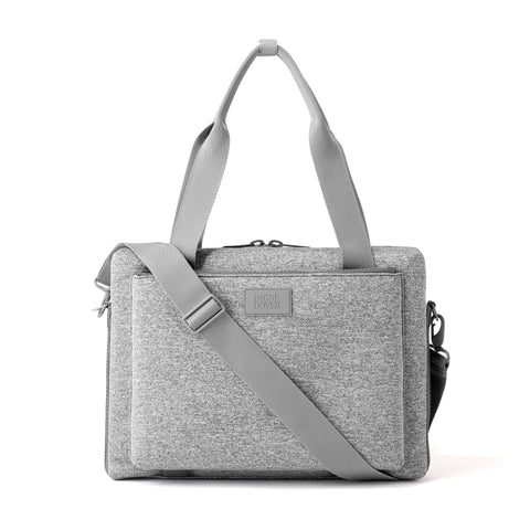 Ryan Laptop Bag in Heather Grey, Large