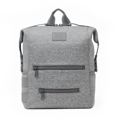 Indi Diaper Backpack in Heather Grey