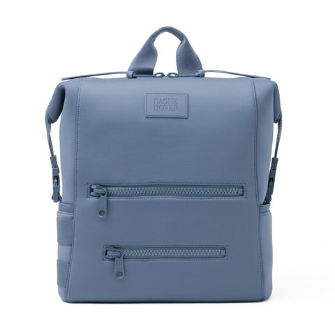 Indi Diaper Backpack in Ash Blue
