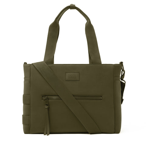 Wade Diaper Tote in Dark Moss, Large