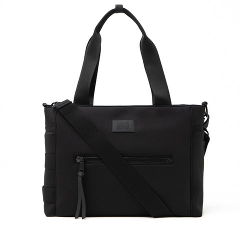 Wade Diaper Tote in Onyx, Large