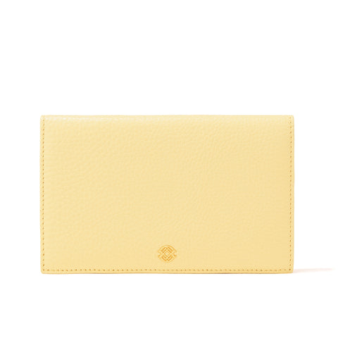 Accordion Travel Wallet in Pollen