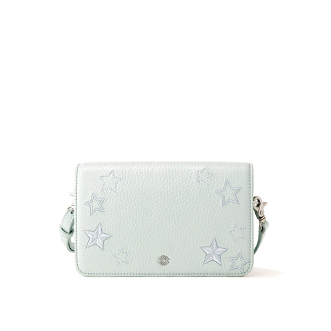 Andra Crossbody in Moon Mist, Small
