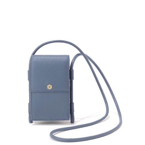 Piper Phone Sling in Ash Blue