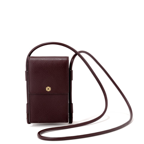 Piper Phone Sling in Oxblood