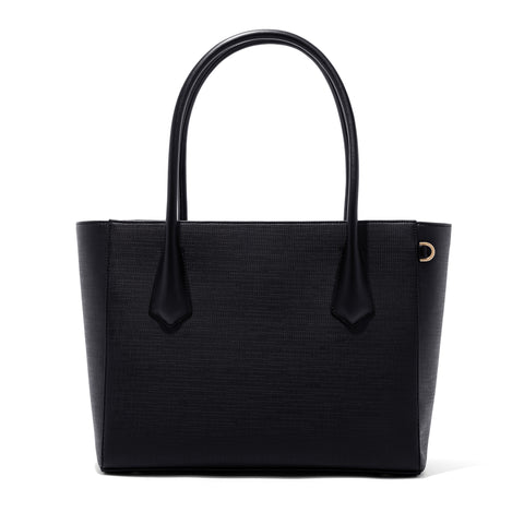 Signature Tote in Onyx, Legend
