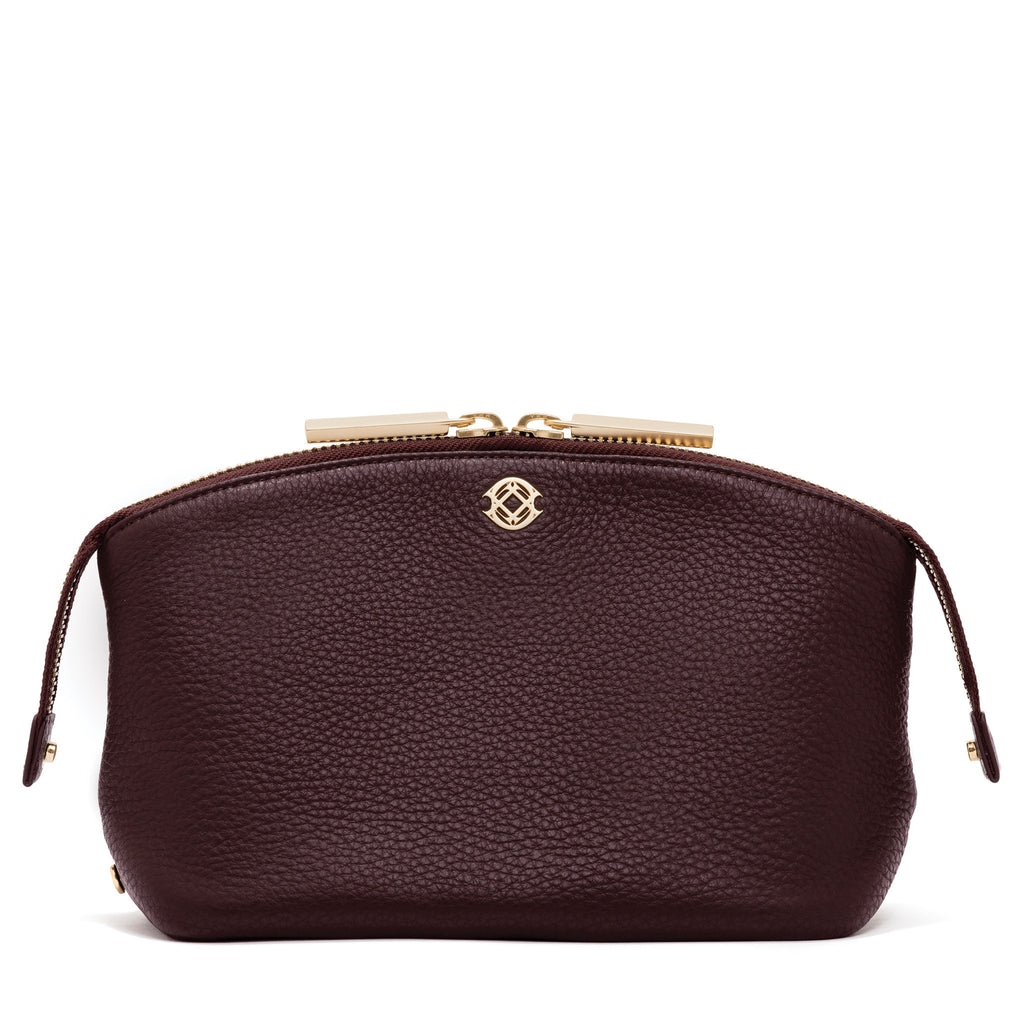 The Lola Pouch - Oxblood - Large