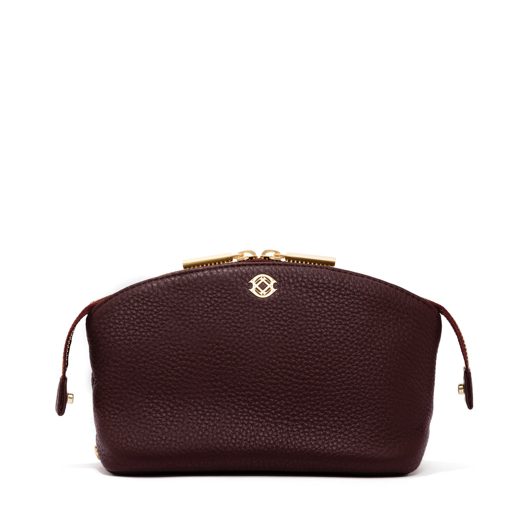The Lola Pouch - Oxblood - Small