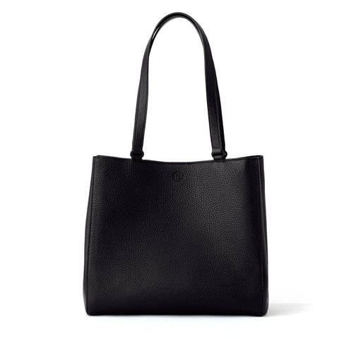 Allyn Tote in Onyx, Medium