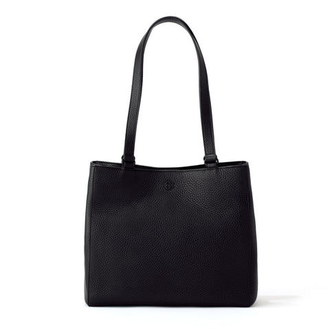Allyn Tote in Onyx, Small