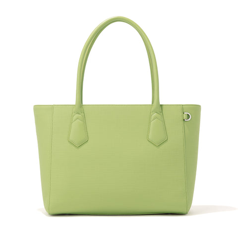 Signature Tote in Lime, Classic
