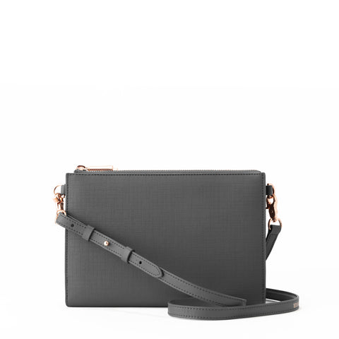 Essentials Clutch Wallet in Graphite