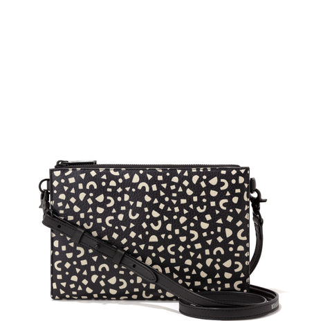 Essentials Clutch Wallet in Block Party Print