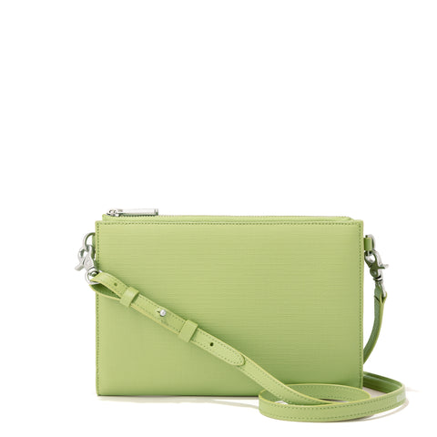 Essentials Clutch Wallet in Lime