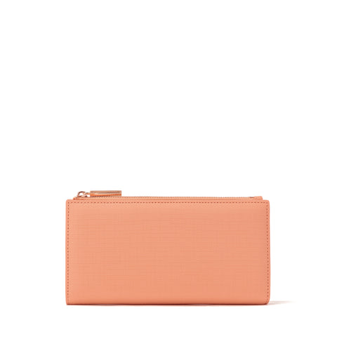 Slim Wallet in Pomelo