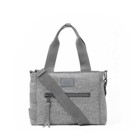 Wade Diaper Tote in Heather Grey, Small