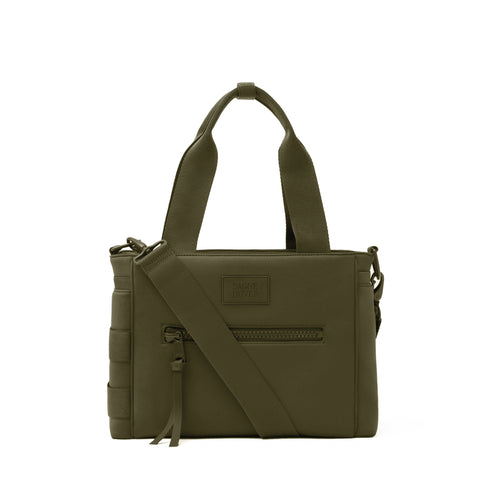 Wade Diaper Tote in Dark Moss, Small