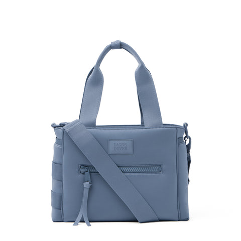 Wade Diaper Tote in Ash Blue, Small