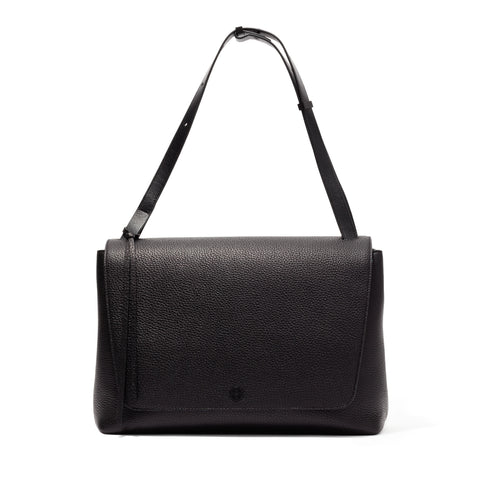 Simone Satchel in Onyx
