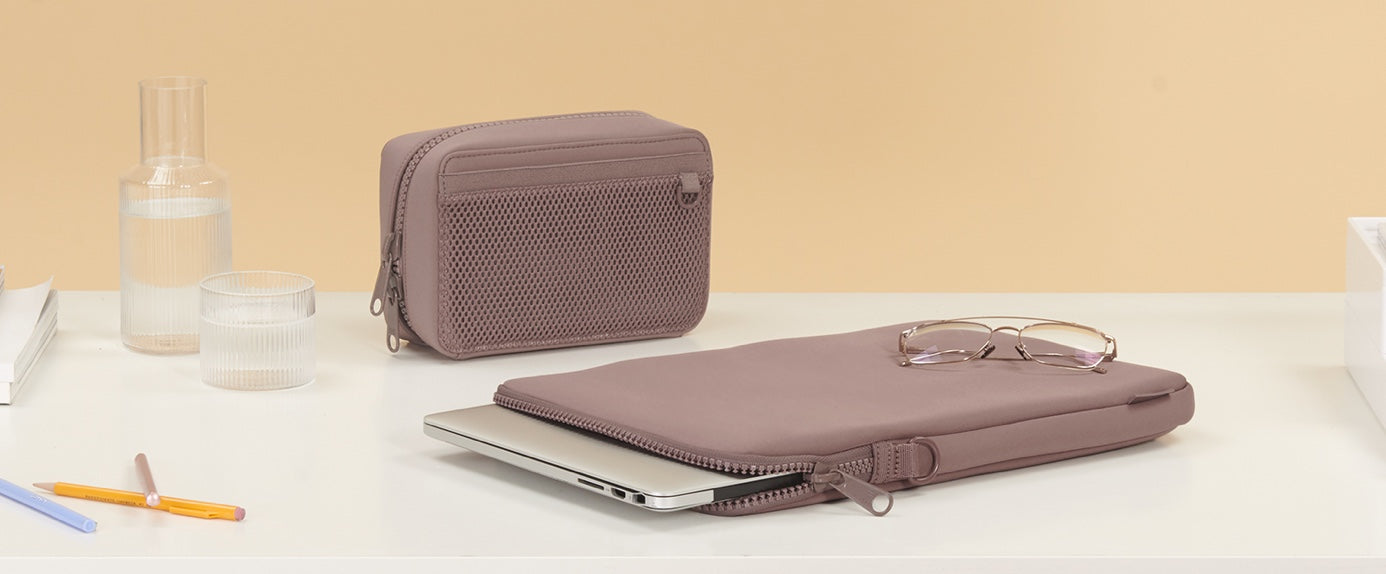 Tech Pouch and Sleeve