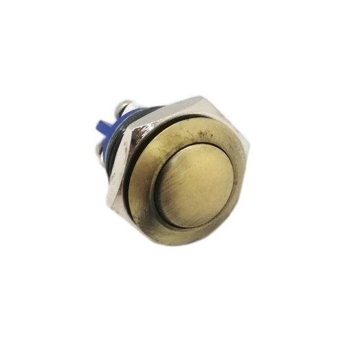 16mm Bronze Button - Commtel Shop