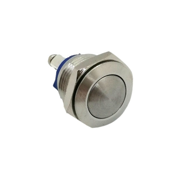 16mm Stainless Steel Button (16MMSS) - Commtel Shop