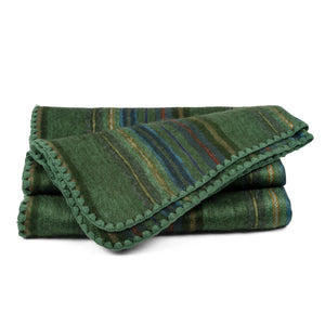 QISU Alpaca Wool Throw Blanket - Veined Color Blankets - QISU