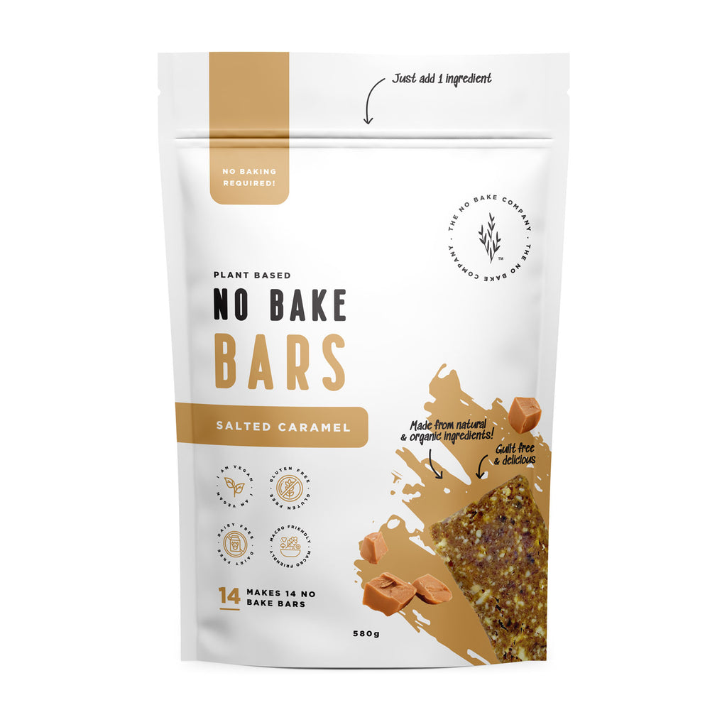 Salted Caramel - No Bake Bar Mixture - The No Bake Company