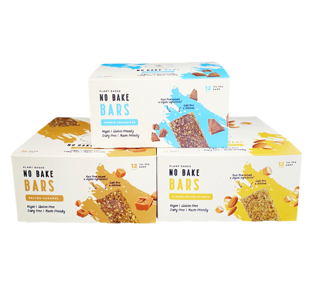 No Bake Bar | 3 carton variety pack - The No Bake Company