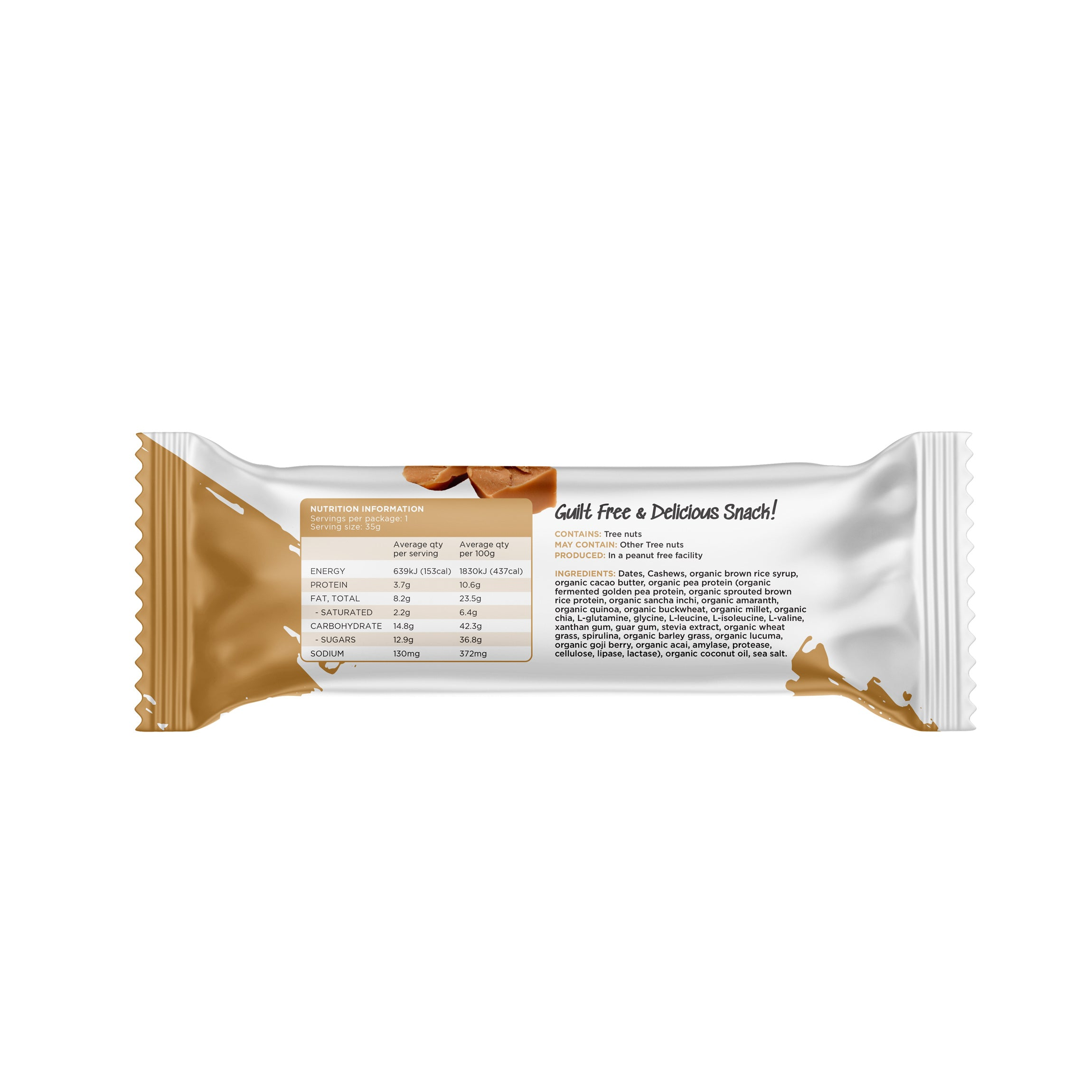 Salted Caramel No Bake Bar's - The No Bake Company