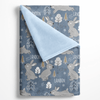 Blue Bunnies Personalized Minky Blanket - BitsyBon