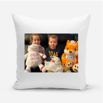 Personalized Pillow Case - Message 2 - BitsyBon