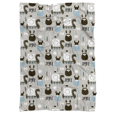 Viking Personalized Minky Blanket - BitsyBon