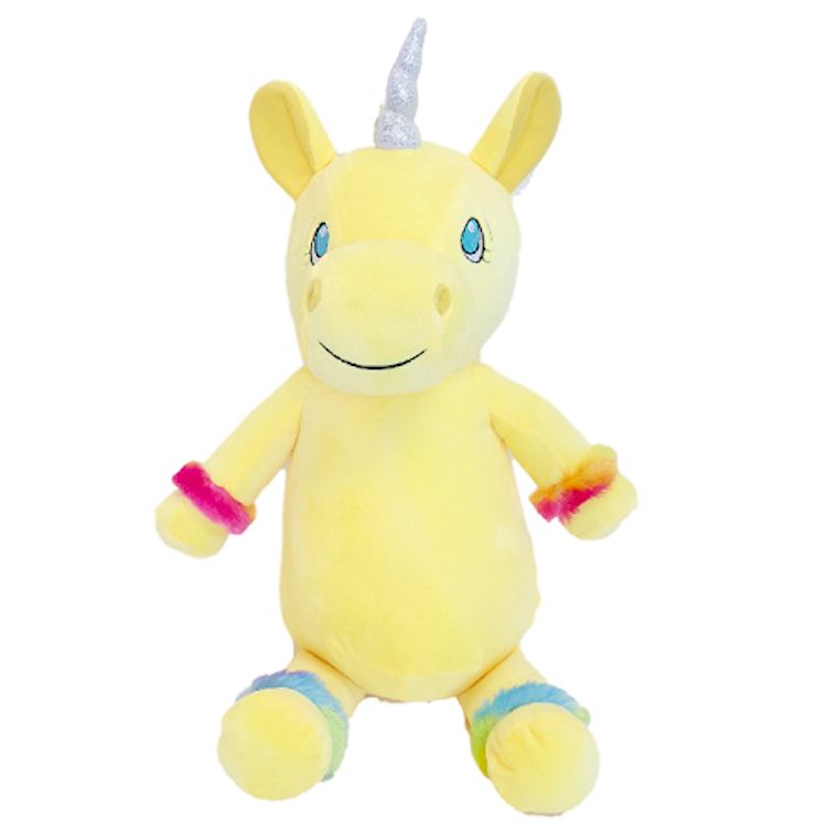 "Yellow Unicorn - ""Starbright"" - BitsyBon"