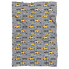 Construction Personalized Minky Blanket - BitsyBon